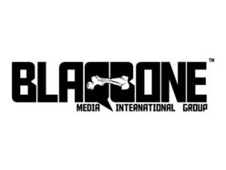 BLAQBONE MEDIA INTERNATIONAL Logo