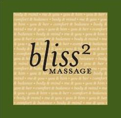 Bliss Squared Massage Logo