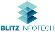 Blitz 3D Design Logo