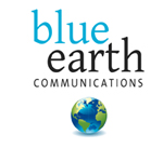 Blue Earth Communications Logo
