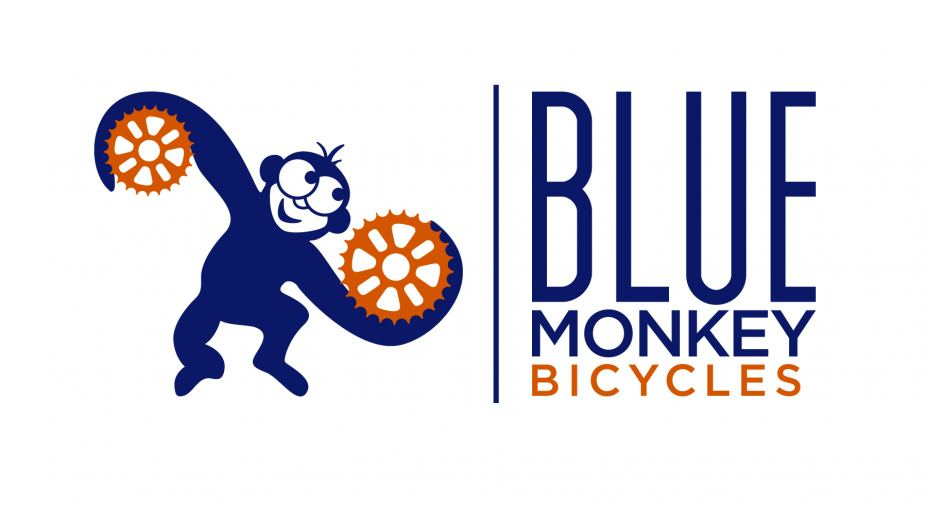 Blue Monkey Bicycles Logo