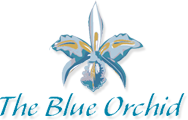 The Blue Orchid Logo