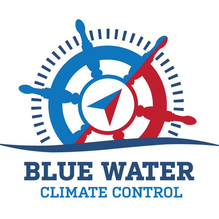 Blue Water Climate Control Logo