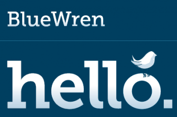 Blue Wren Marketing Logo