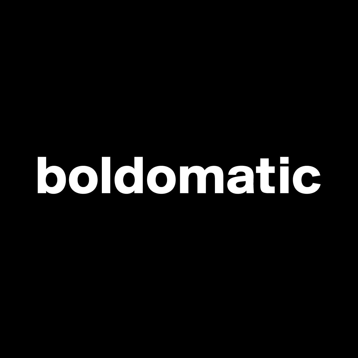 Boldomatic Logo