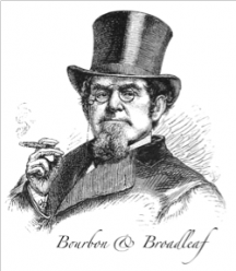Bourbon & Broadleaf Logo