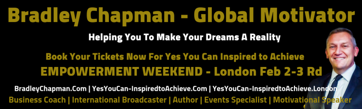 Bradley Chapman - Yes You Can Inspired to Achieve Logo