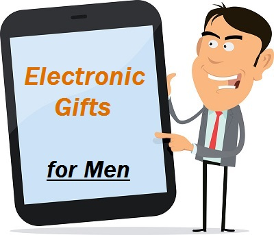 Electronic Gifts for Men Logo