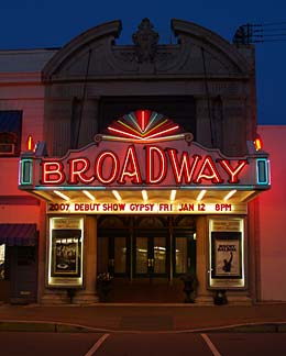 Broadway Theatre of Pitmam Logo