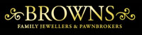 Browns Family Jewellers and Pawnbrokers Logo