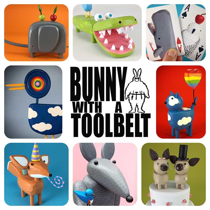Bunny with a Toolbelt Logo