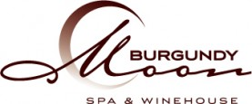 Burgundy Moon Spa & Winehouse Logo