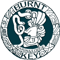 BURNT KEY | marina and lodge Logo