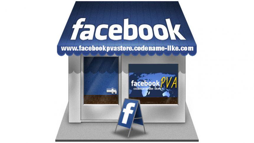 Facebook PVA Store Logo