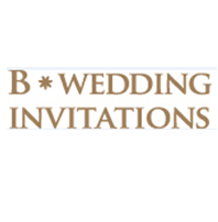 B Wedding Invitations Logo