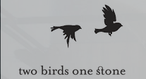 Two Birds One Stone Cafe Logo