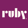 Ruby Receptionists Logo