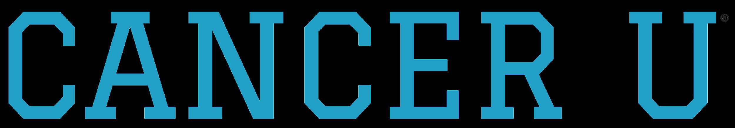 Cancer University Logo