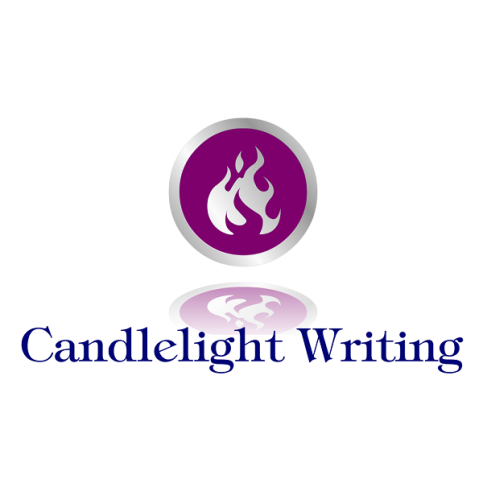 Candlelight Writing Logo