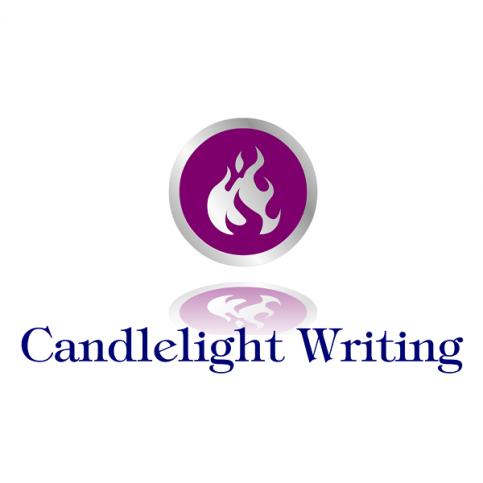 Candlelight Writing Logo