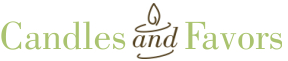 Candles and Favors Logo