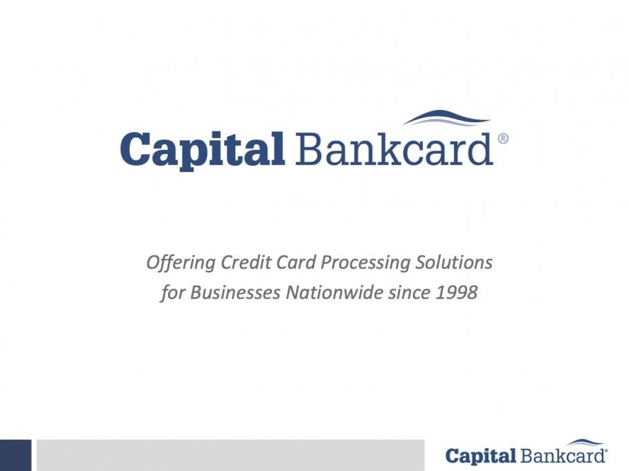 Capital Bankcard Promo Logo