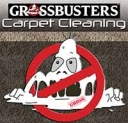 Grossbusters Carpet Cleaning Logo