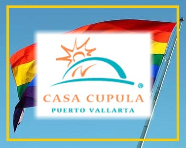 Casa Cupula Gay Hotel in Puerto Vallarta Logo