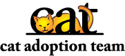 Cat Adoption team Logo