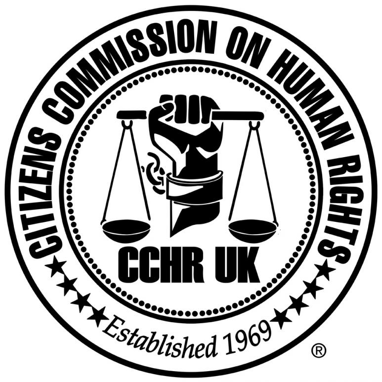 The Citizens Commission on Human Rights UK Logo