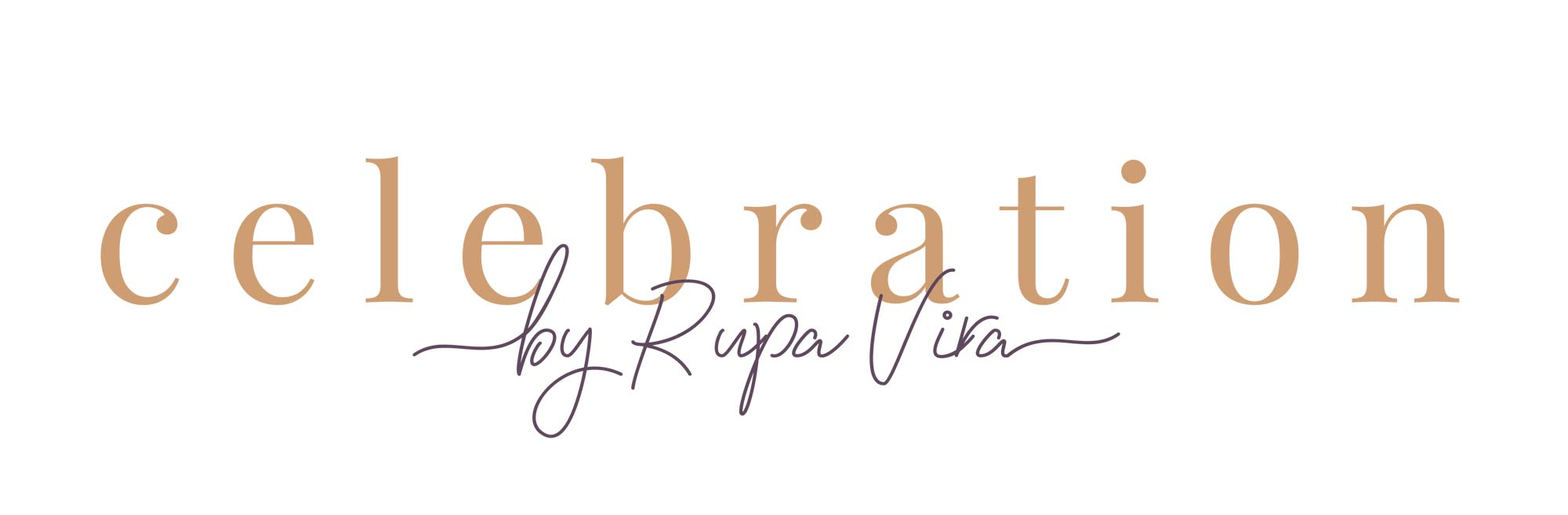Celebrations by Rupa Vira Logo