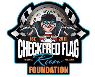 Checkered Flag Run Foundation Logo