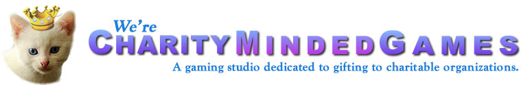 Charity Minded Games Logo