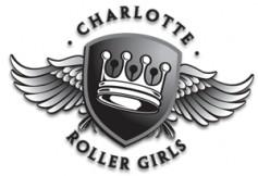 Charlotte Roller Girls Logo