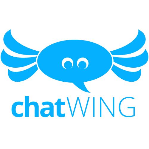 Chatwing Live Chat Room Website Software App Logo