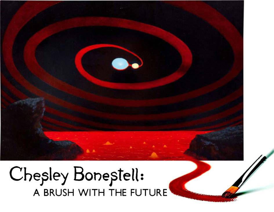 Chesley Bonestell: A Brush with the Future Logo