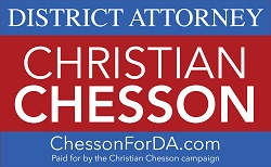 Christian D. Chesson Campaign Logo