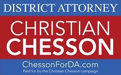Christian D. Chesson Campaign Logo