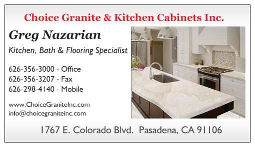Choice Granite & Kitchen Cabinets Inc. Logo