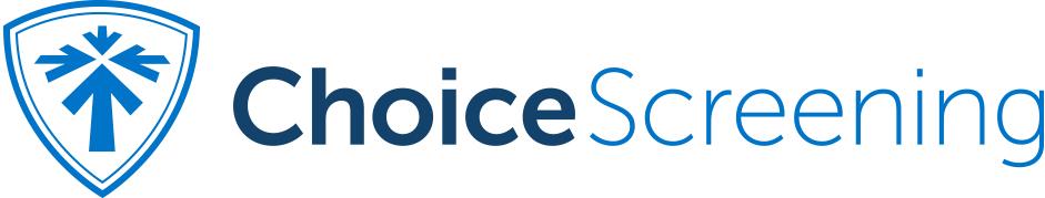 Choice Screening Logo