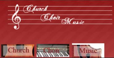 Church Choir Music Logo