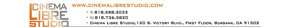 Cinema Libre Studio Logo