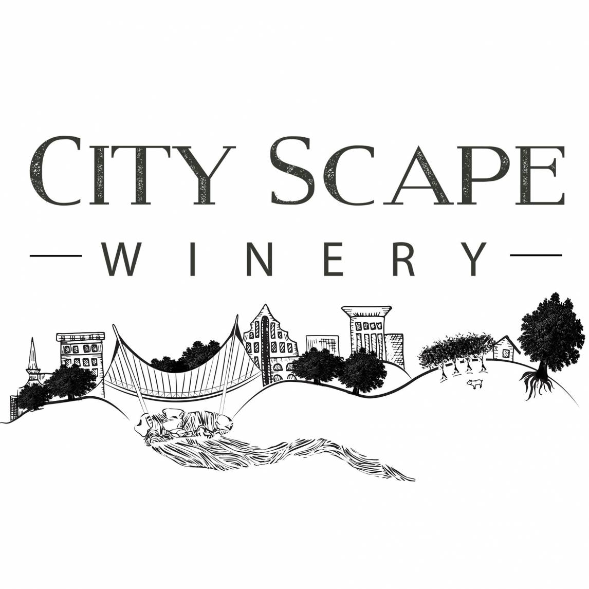 City Scape Winery Logo