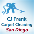 CJ Frank Carpet Cleaning San Diego Logo