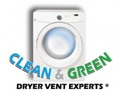 Clean and Green Dryer Vent Experts Logo