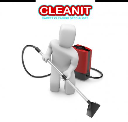 Cleanit cleans carpets Logo