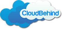 CloudBehind dot Ccom Logo