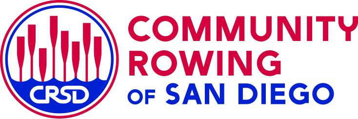 Community Rowing of San Diego Logo