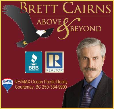 Brett Cairns - RE/MAX Ocean Pacific Realty Logo