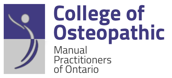 College of Osteopathic Manual Practitioners of ON Logo